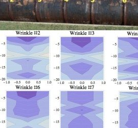 G2MT residual stress analysis of wrinkle bends