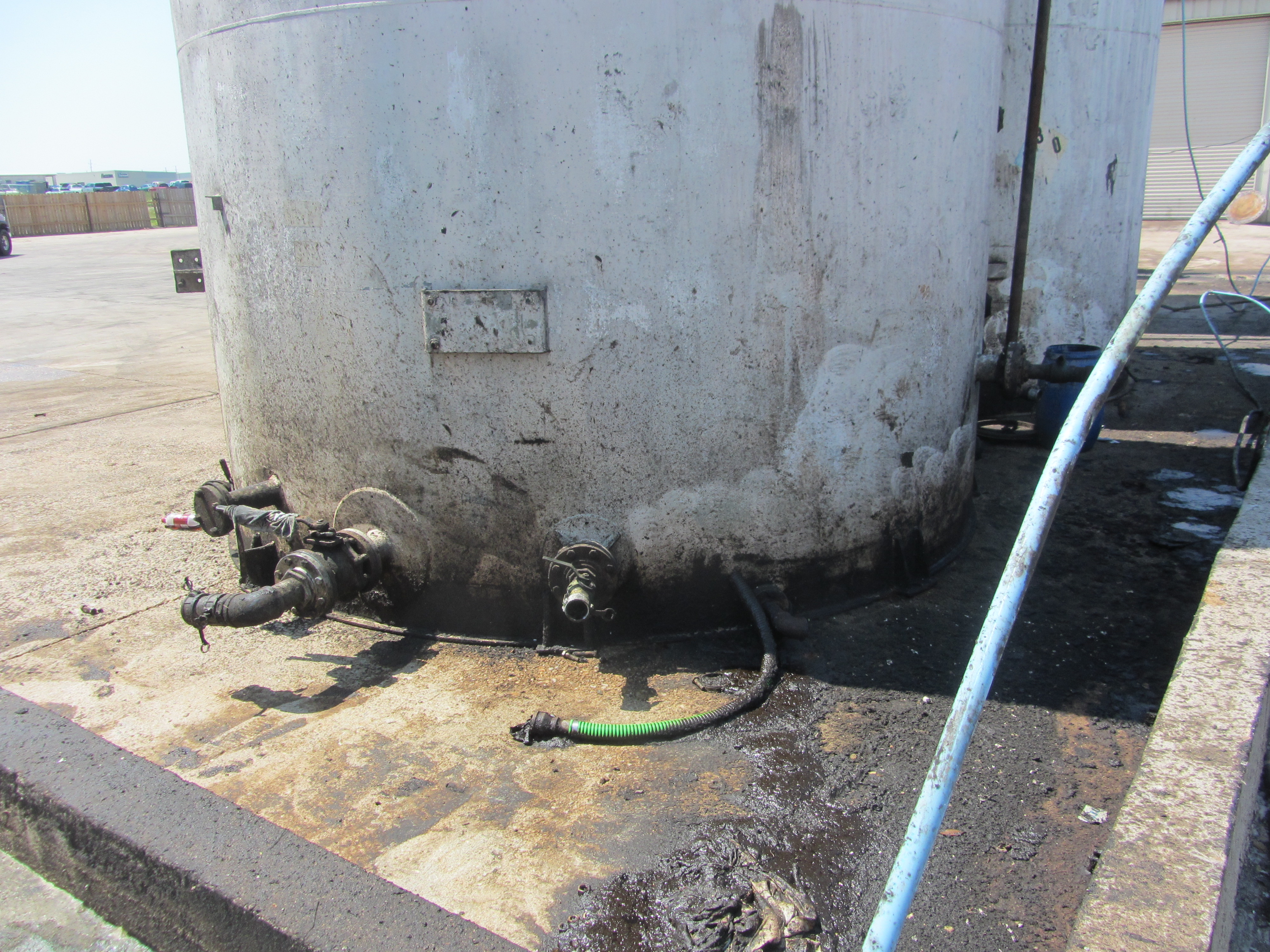 NDE Of Storage Tanks In Chemical Processing Plant